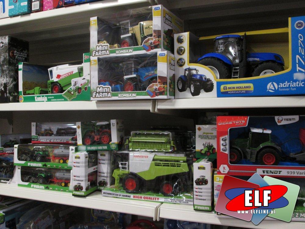 Mini Farma, Zabawa w farmę, Traktor, Traktory, Kombajn, Kombajny i inne zabawki rolne