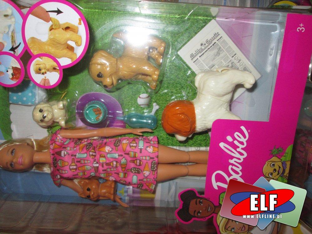 Barbie, Lalka z pieskami, szczeniaczkami, Lalki, szczeniaczki