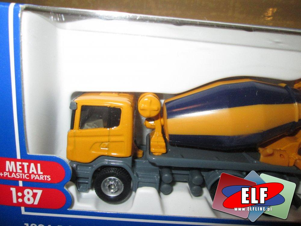 Siku, Model betoniarki, Mercedesa dostawczego i inne modele