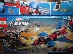 Lego, Marver Spider-Man, 76150 Pajęczy odrzutowiec kontra mech Venoma, klocki