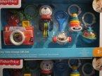 Fisher-Price, Zestawy zabawek dla malucha, zabawka dla dziecka, zabawki dla maluszków, edukacyjne i kreatywne