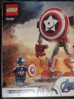 Lego Avengers, Marvel, 76168 Opancerzony mech Kapitana Ameryki