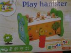 Zabawki drewniane, Play hamster, gra, gry, zabawka, zabawki