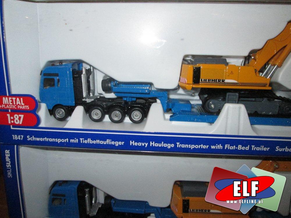 Siku, Model Śmieciarki, Straży pożarnej, Śmieciarka, Straż pożarna, Koparka, Ciężarówka, Koparki, Ciężarówki, modele pojazdów, samochodów i inne