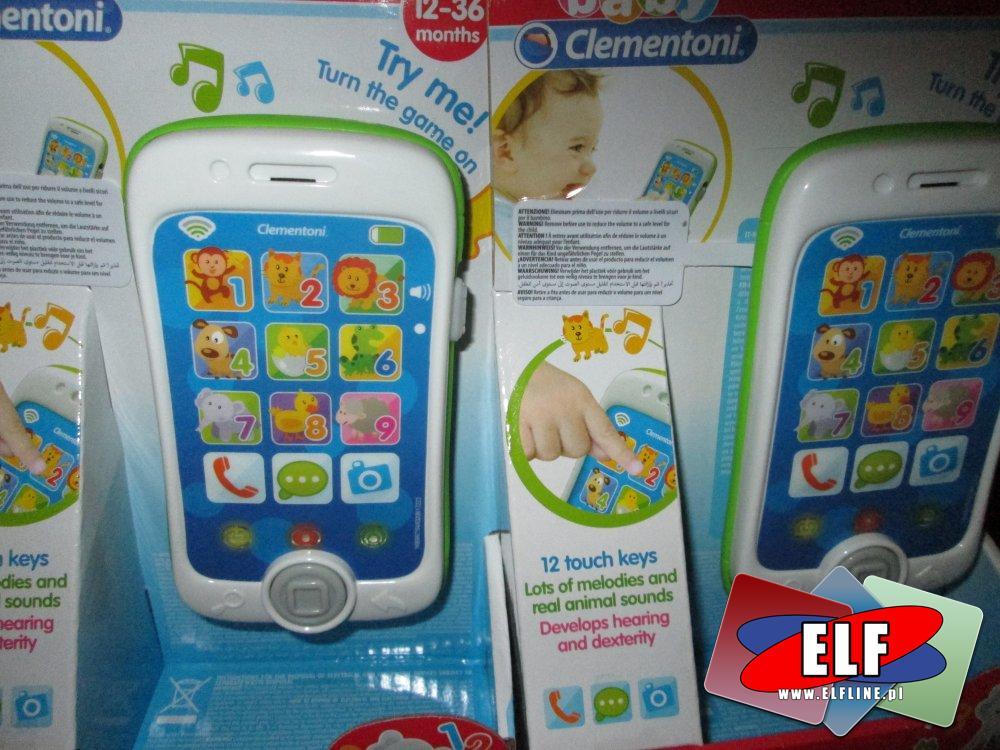 Clementoni Baby telefonik edukacyjny i inne zabawki