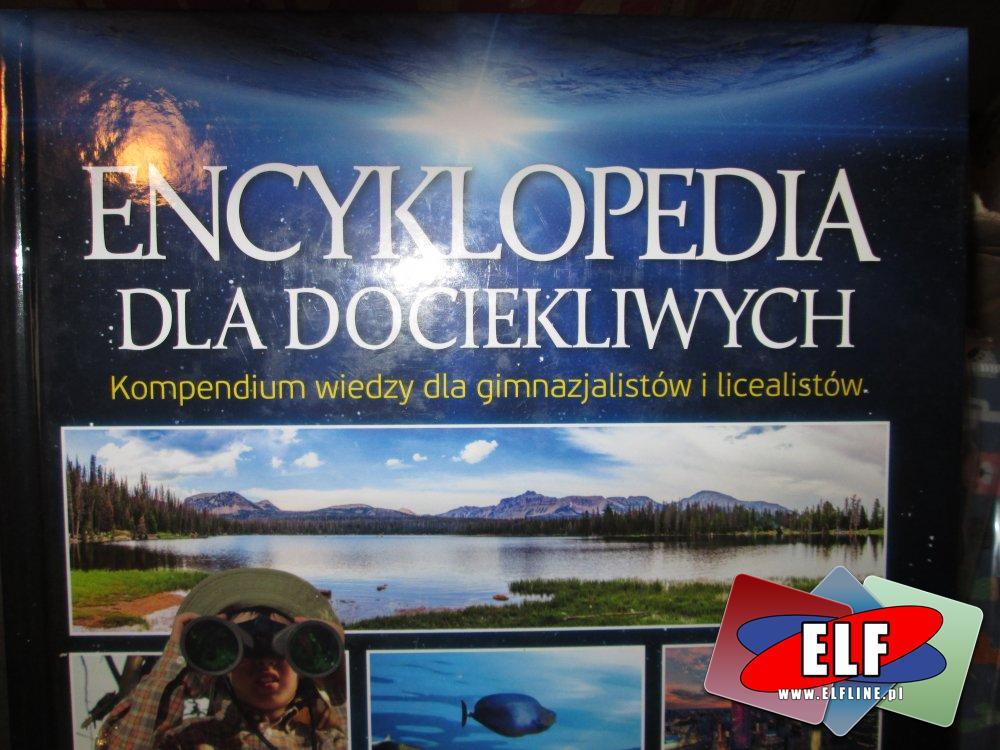 Książki edukacyjne, Atlas świata, Encyklopedia dla dociekliwych
