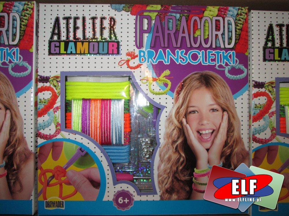 Atelier Glamour, Paracord Bransoletki, zestaw do tworzenia bransoletek, zestawy kreatywne i piękności, zestaw kreatywny, bransoletka, bransoletki