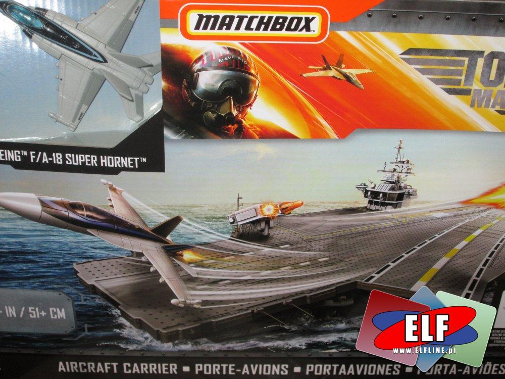 Matchbox, Aircraft Carrier, Lotniskowiec i samolocik, Lotniskowce, zabawka, zabawki