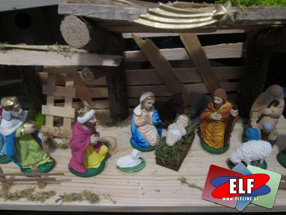 Dewocjonalia, szopki, święta, świąteczne, Boże narodzenie, Bożonarodzeniowe ozdoby i szopki