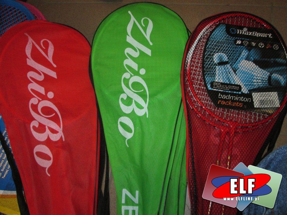 Rakiety do tenisa ziemnego, badminton, zestaw sportowy, zestawy sportowe, gra, gry