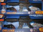 Deluxe, zestaw policyjnych sił specjalnych, karabin, pistolet, granat, kajdanki, zabawka, zabawki, karabiny, pistolety, granaty itp.
