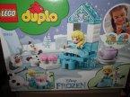 Lego Duplo, 10920 Popołudniowa herbatka u Elsy i Olafa, klocki, kraina lodu, frozen