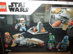Lego StarWars, 75267 Zestaw bojowy Mandalorianina, Star Wars, klocki