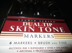 Dual-Tip Skin Tone, Markers, Markery, Mazaki, Mazak, Marker Dual-Tip Skin Tone, Markers, Markery, Mazaki, Mazak, Marker