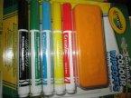 Crayola, Markery łatwe do zmycia, kolorowe ściereczki, Marker Crayola, Markery łatwe do zmycia, kolorowe ściereczki, Marker