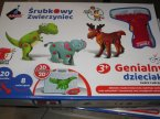 Śrubkowe konstrukcje, Genialny dzieciak, zabawka kreatywna i edukacyjna, zabawki kreatywne, edukacyjne