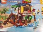 Lego Creator, 31118 Surfer Beach House, klocki, Domek surferów na plaży