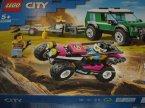 Lego City, 60276 Policyjny konwój więzienny, 60288 Transporter łazika wyścigowego, klocki