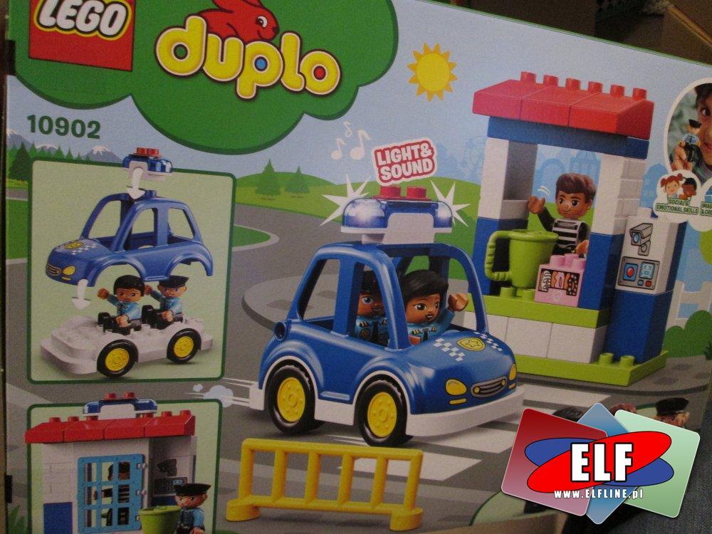 Lego Duplo, 10835 Dom rodzinny, 10902 Posterunek policji, klocki
