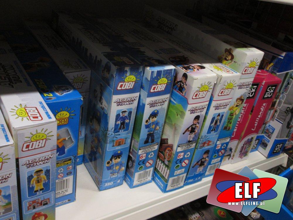 Cobi Action Town, Mała armia, i inne zabawki, zabawka, klocki