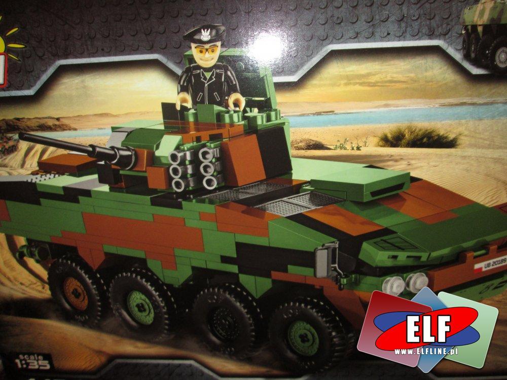 Cobi Mała armia, klocki, zabawki, czołgi, wojsko, wojskowe i inne