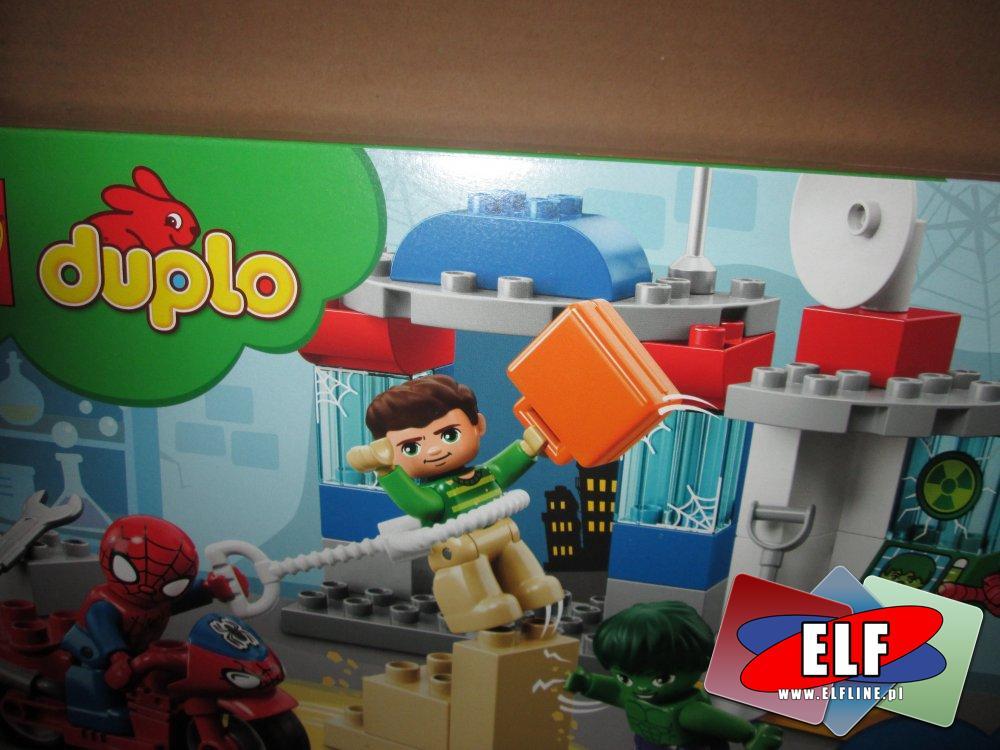 Lego Duplo, Spiderman, Hulk itp, klocki