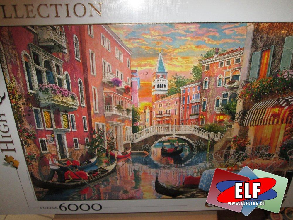 Puzzle, 6000 elementów, 3000 elementów i inne