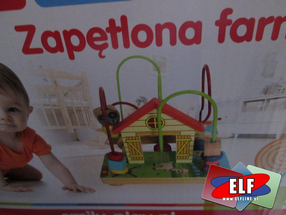 Zaplątana zagroda, Smily Play, Zabawka drewniana, edukacyjna, edukacyjne zabawki drewniane