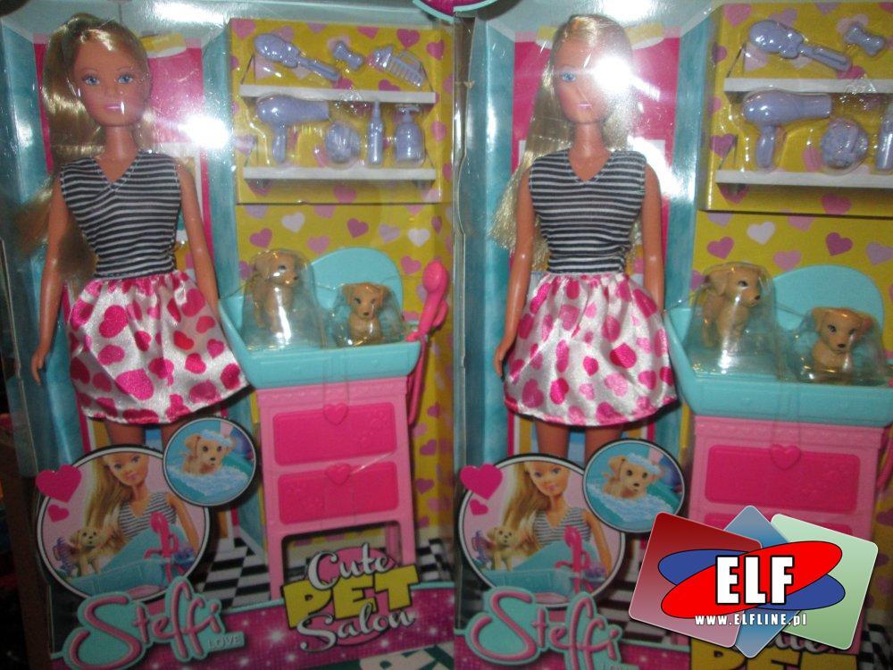 Steffi Love, salon fryzjerski dla piesków, lalka, laleczka, laleczki, lalki