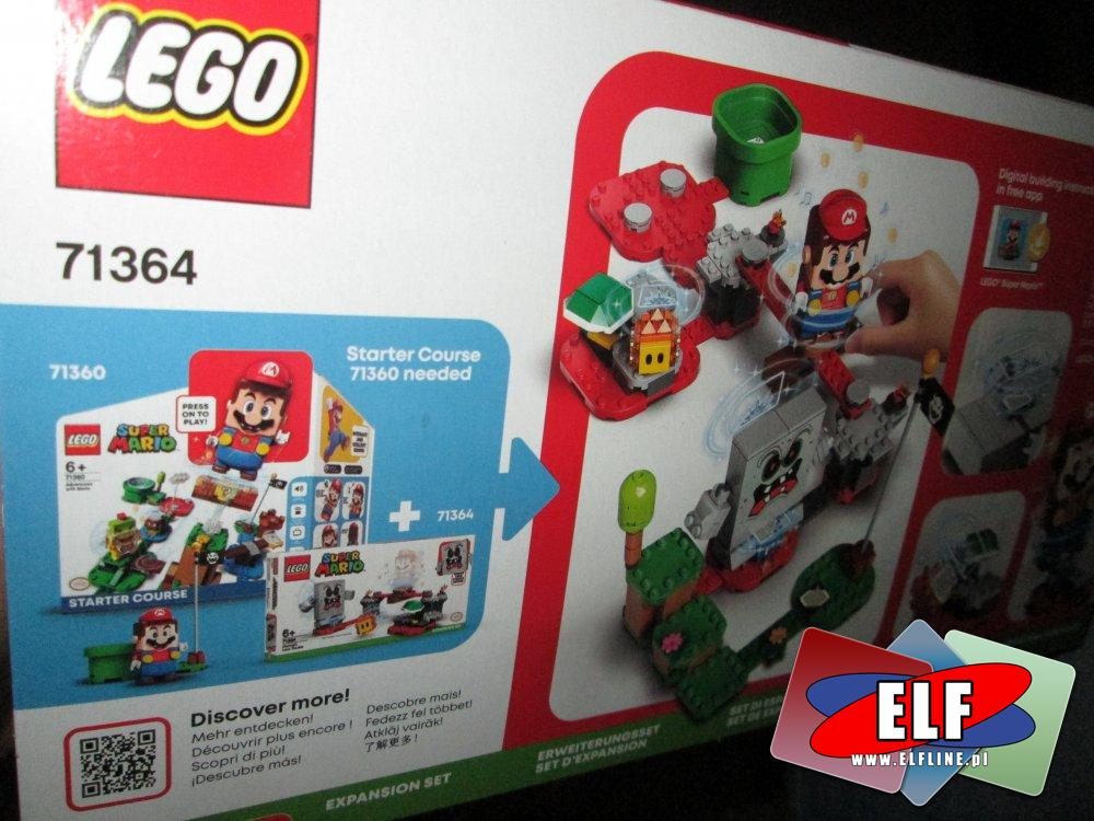 Lego Super Mario, 71360, 71368, 71362, 71365, 71366, 71364, 71363, 71361, klocki