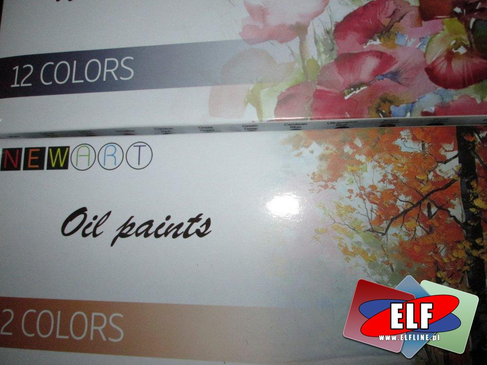 Oil Paints, Farby Olejne, NewArt