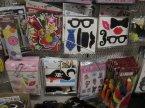 Okulary ze słomka do picia, Maski, Ozdoby, Imprezowe akcesoria