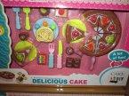 Delicious Cake, plastikowe jedzenie, zestaw, zestawy, żywność do zabawy, zabawa w dom, zabawa w sklep