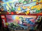 Lego Ninjago, 71709 Wyścigówki Jaya i Lloyda, klocki