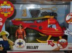 Strażak Sam, Wallaby, helikopter, helikoptery