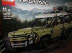 Lego Technic, 42110 Land Rover Defender, 42109 Auto wyścigowe Top Gear sterowane przez aplikacj... Lego Technic, 42110 Land Rover Defender, 42109 Auto wyścigowe Top Gear sterowane przez aplikację, klocki
