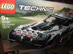 Lego Technic, 42110 Land Rover Defender, 42109 Auto wyścigowe Top Gear sterowane przez aplikację, klocki