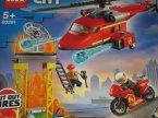Lego City, 60281 Strażacki helikopter ratunkowy, klocki