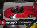 Burago, różne samochody, Ferrari, samochód, samochody zabawka