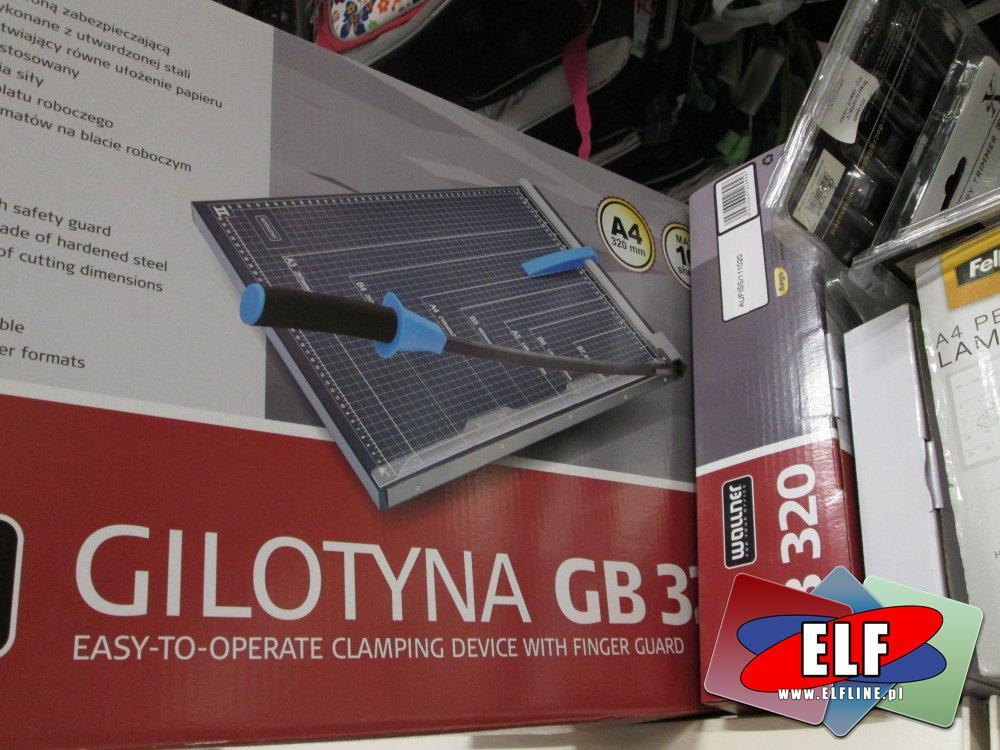 Gilotyna do papieru, Gilotyny