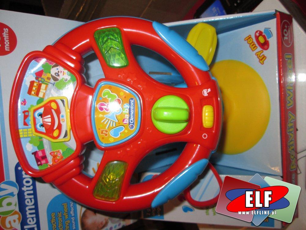 Clementoni, Edukacyjna kierownica zabawkowa, kierownice interaktywne zabawki