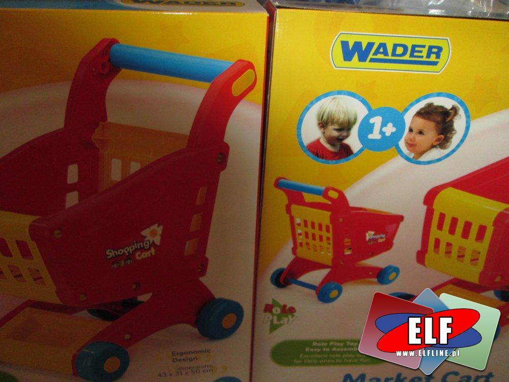 Wader, Zabawkowy wózek sklepowy, edukacja przez zabawę