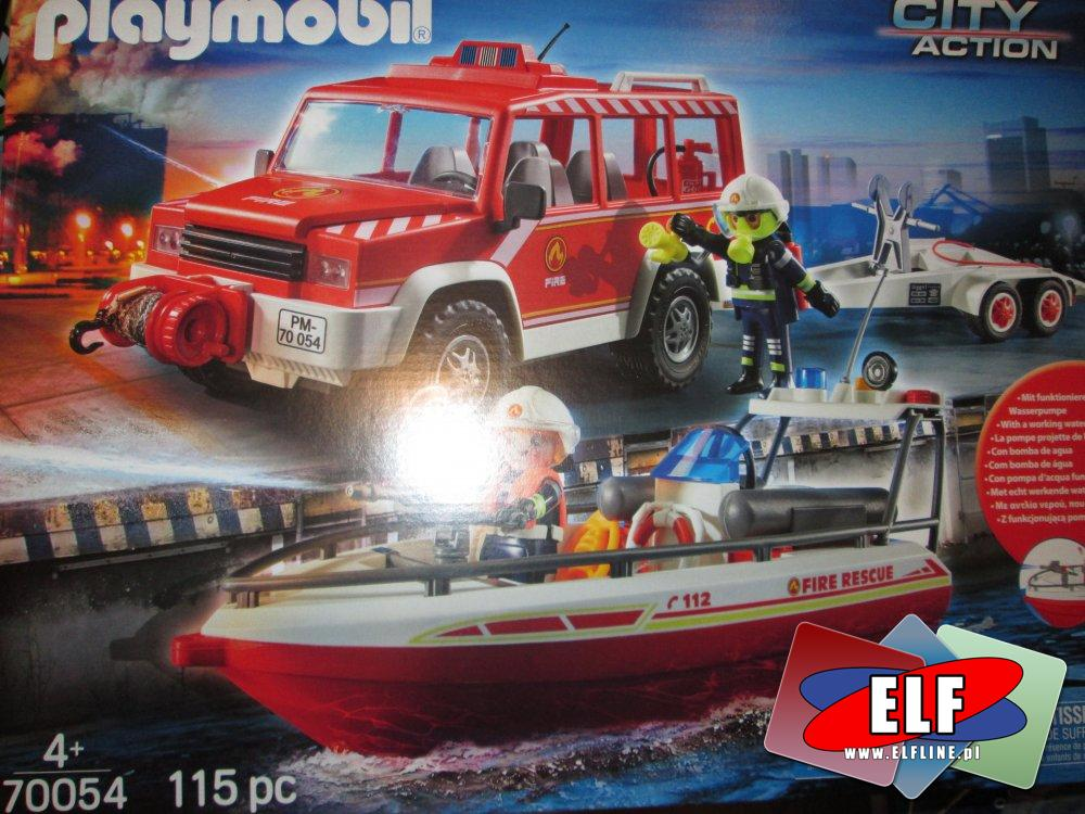 Playmobil Straż Pożarna, 70054, klocki, zabawki