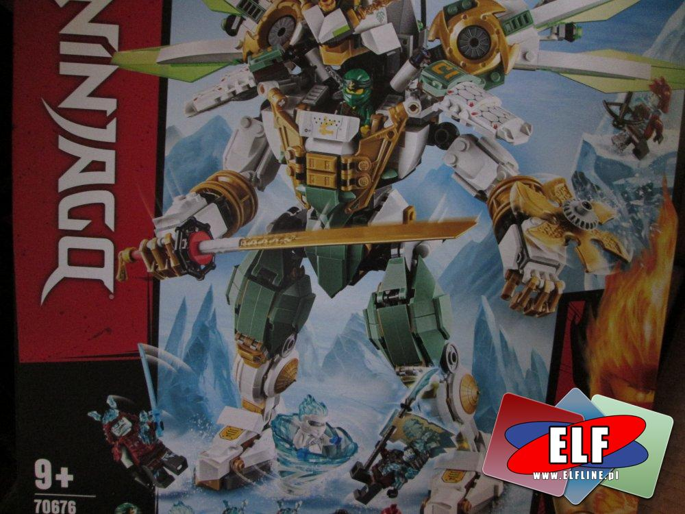 Lego Ninjago, 70676 Mechaniczny tytan Lloyda, klocki