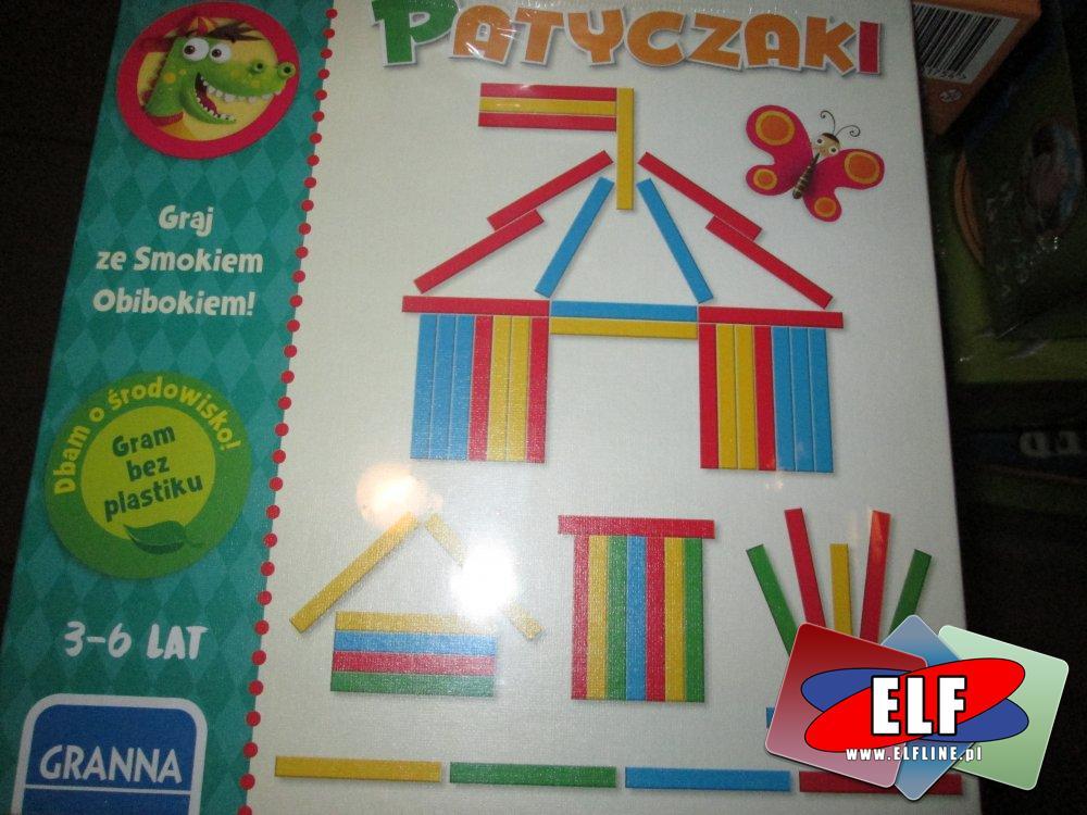 Patyczaki, Graj ze smokiem, gra edukacyjna, gry edukacyjne