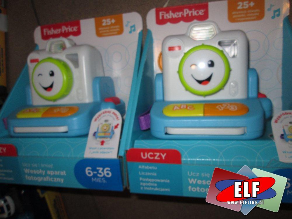 Fisher-Price Wesoły aparat fotograficzny, zabawka edukacyjna, zabawki edukacyjne