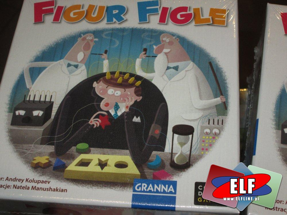 Gra Figur Figle, Gry