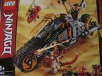 Lego Ninjago, 70672 Motocykl Cole a i inne klocki Lego Ninjago, 70672 Motocykl Cole a i inne klocki