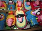 Świnka Peppa w samochodziku, pojeździe, samochodzik, pojazd