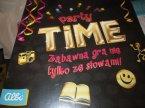 Gra, Party Time, zabawna gra nie tylko ze słowami, Gry